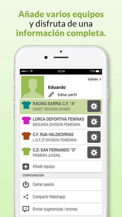 download Matchapp - Calendario, resultados de tu Federación apps 2