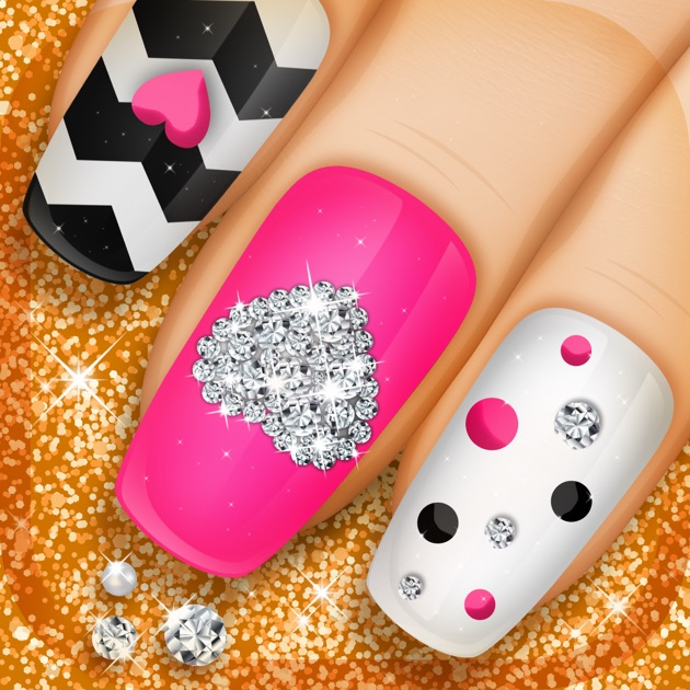 Nail manicure games for girls beauty makeover ideas and fashion nail manicure games for girls beauty makeover ideas and fashion nail designs on the app store prinsesfo Images