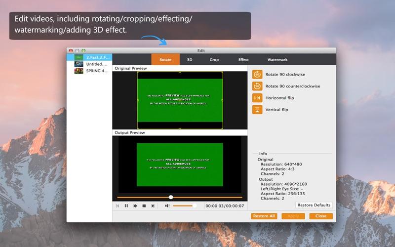 4K Converter-Best 4K video converter Screenshots