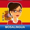 Imparare lo spagnolo rapidamente con MosaLingua: corso di conversazione e vocabolario
