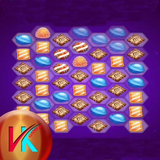 Galaxy Candy Match Puzzle iOS App