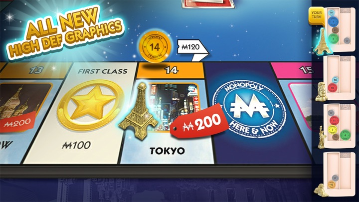 MONOPOLY HERE & NOW: TV Edition Screenshots