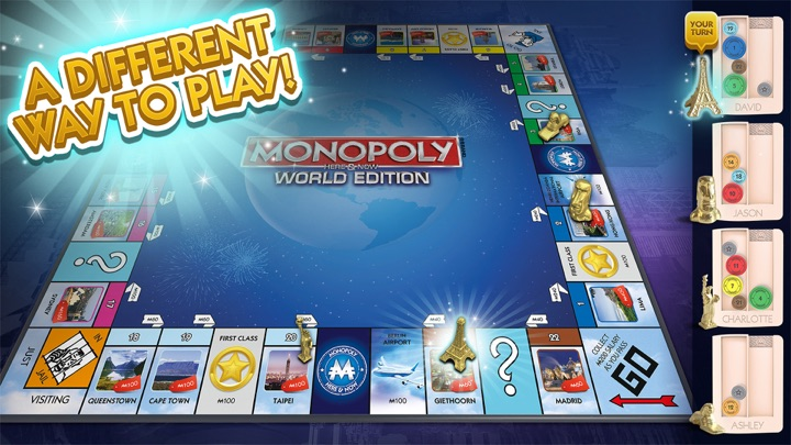 MONOPOLY HERE & NOW: TV Edition IPA Cracked for iOS Free