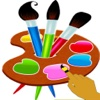 The Kids Drawing Desk-Colorful Drawing and Scratch Images App for Babies