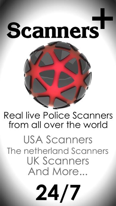 Screenshot of La polizia vivono scanner radio - Il miglior scanner polizia RSS da su stazioni radio di linea1