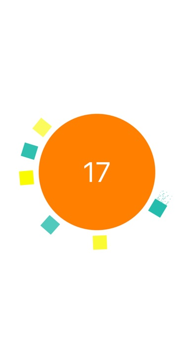 Circle Ball Surfer - Switch Color to Match Crazy Square Screenshot