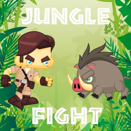 Jungle Fight Tap Game iOS App