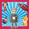 動畫玩具在幼兒園兒童遊戲對於小嬰兒及童裝播放