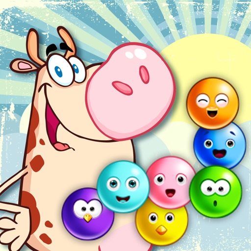 Cow Pop Bubble Meadow - FREE - Farm Country Bubbles Adventure iOS App