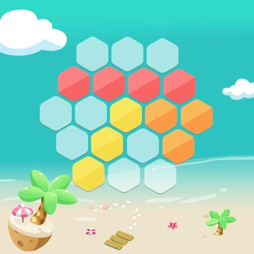 Magic Hexagons - Tetris hexagon version iOS App