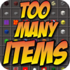 Bluestone Publishing Inc - TOO MANY ITEMS MODS FOR MINECRAFT PC EDITION GAME - BEST POCKET GUIDE FOR MCPC artwork