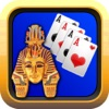 Egypt Solitaire Golden Pharaohs Pyramid Card Blast