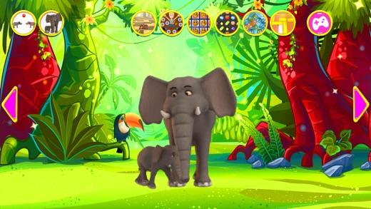 Talking Elephant King Red Screenshot