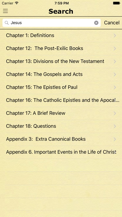 Bible Study Guide with King James Bible Verses