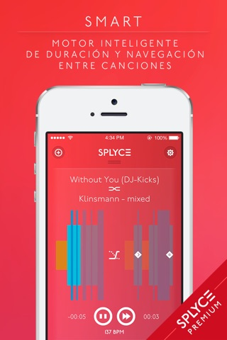 Splyce Premium - music player & dj mixer screenshot 4