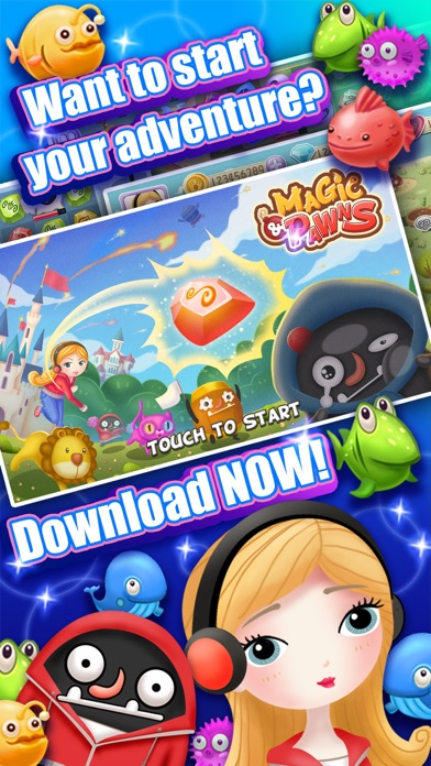 Magic And Pawns: Fairy-tale match 3 saga! Screenshot