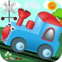 Train Games For Kids! Sounds, Matching & Puzzles-Fun Toddler & Preschool Activities by Play 'N Learn Apps icon
