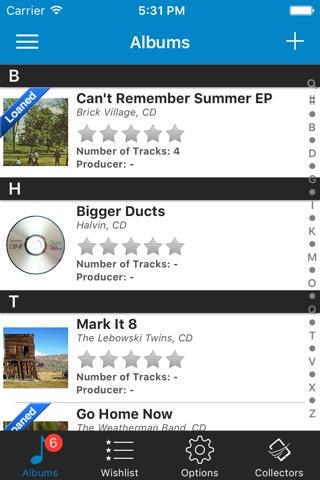 Music Collector and Organizer screenshot 1
