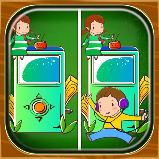 Spot it! Back to School 1 iOS App