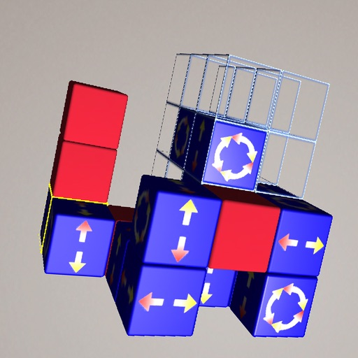 Snake Cube puzzle iOS App