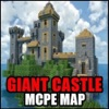 GIANT CASTLES MAPS FOR MINECRAFT PE ( Pocket Edition ) - Free Map app for MCPE !