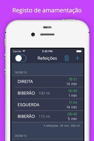 Baby Feeding Log - Newborn Breastfeeding, Bottle and Nursing Tracker with Timer screenshot 2