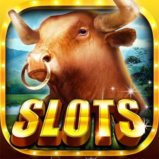 Buffalo Slots Cherokee Buffalo Slot Machines-Play Free Real Fun Las Vegas Slots Games & Win Big Jackpots! iOS App