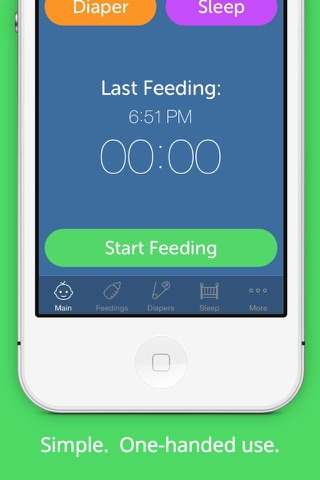 Baby Feeding Log - Newborn Breastfeeding, Bottle and Nursing Tracker with Timer screenshot 1
