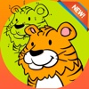 Brain dots Coloring Book - coloring pages dot games free for kids and toddlers coloring