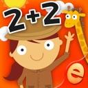 Tier Mathe-Spiele für Kids