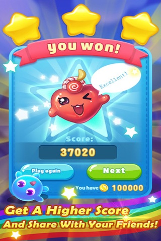 Sugar Sweet Crunch - Race and Match 3 Puzzle Blast game screenshot 2