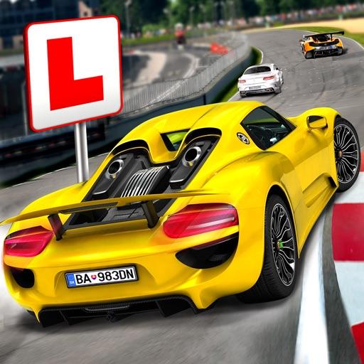car driving school gratuit jeux voiture course par boombit inc. Black Bedroom Furniture Sets. Home Design Ideas