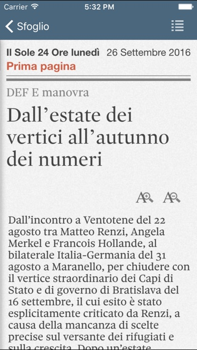 Screenshot of Il Sole 24 ORE4