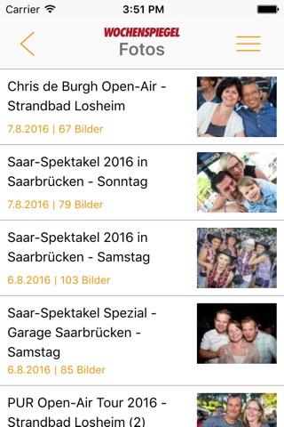 Wochenspiegel screenshot 4