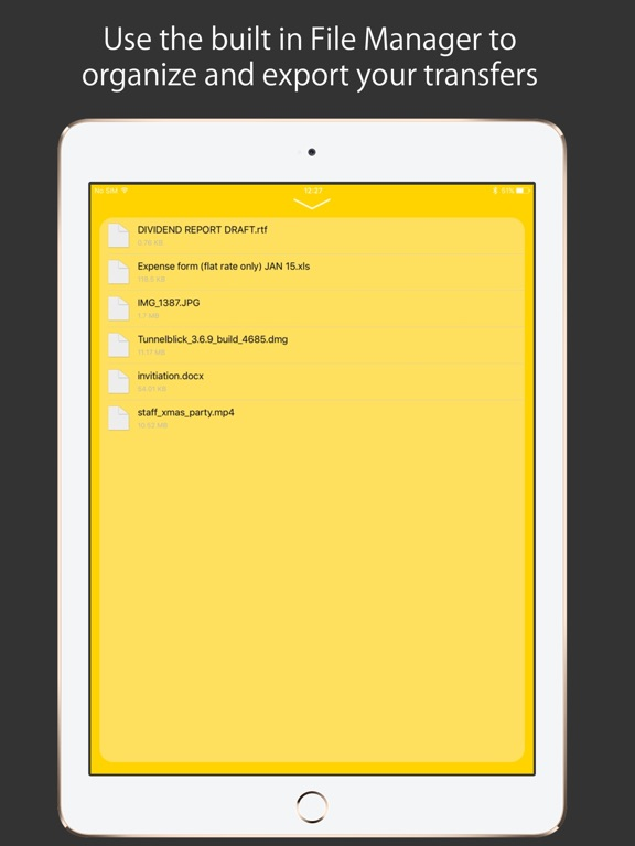 Screenshot #3 for Air Drive - Transfer files on the go