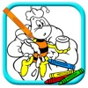 Big Bee Explorer Coloring Page Game For Kids