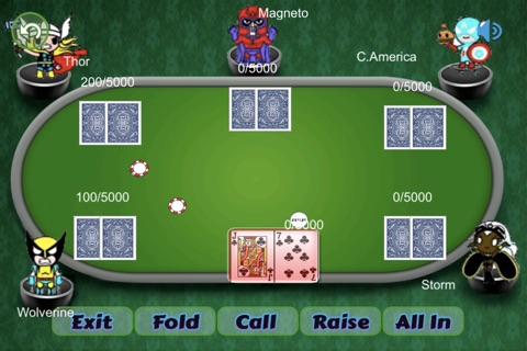 Texas Style Holdem Poker screenshot 3
