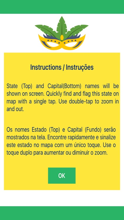 Geogems Brazil State-Capital Map Quiz by Vinay Bansal