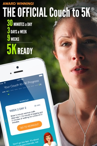 Couch to 5K® - Run training screenshot 1