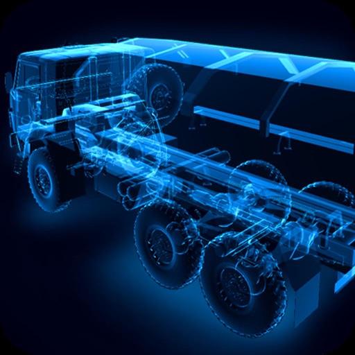 X-Ray KAMAZ Truck iOS App