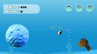 Turbo Penguin Snow Ball Racer - cool jumping and racing game Screenshot on iOS