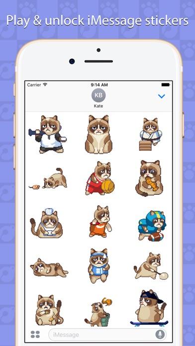 Grumpy Cat: es el peor juego Screenshot