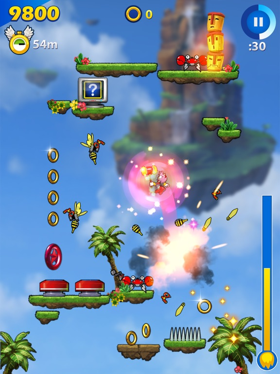 Screenshot #2 for Sonic Jump Fever