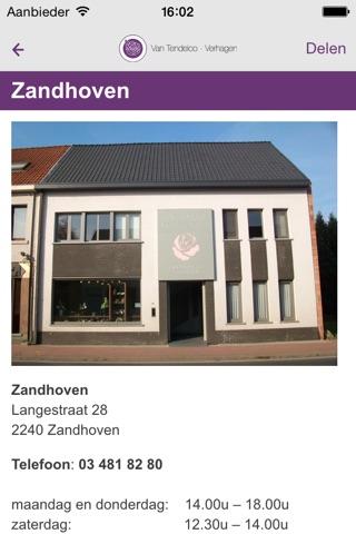 Uitvaartverzorging Van Tendeloo-Verhagen screenshot 2