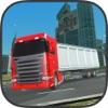 Schwere Transporter Lkw-Simulator große Stadt