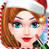 Christmas Makeover 2017 - Spa Makeup Dressup spel