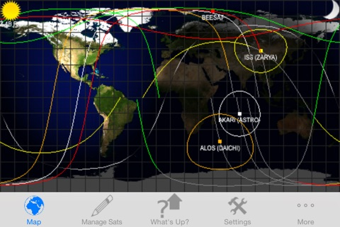 Satellite Tracker - (ProSat) screenshot 2