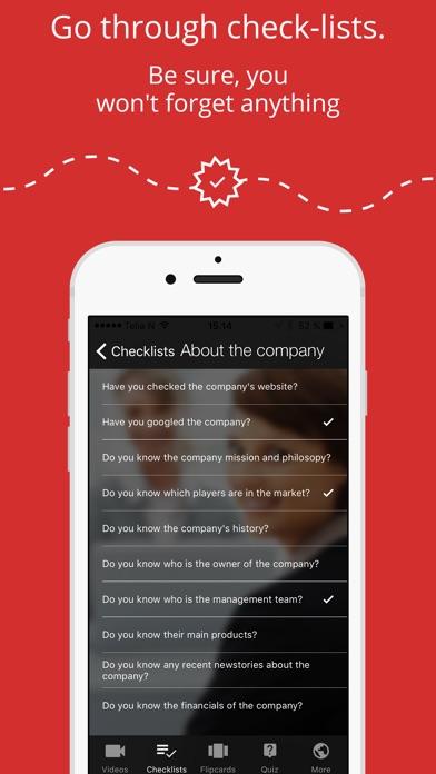 Job Interview AppСкриншоты 3