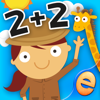 Animal Math Games for Kids in Pre-K, Kindergarten and 1st Grade Learning Numbers, Counting, Addition and Subtraction Free
