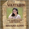 Wanted Photo Frame Funny Wild West Style Poster HD wanted